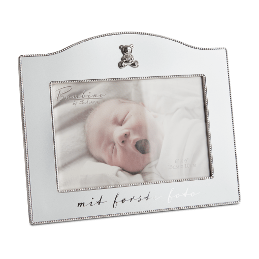 "Flot forsølvet Bambino billedramme fra Nordahl Andersen ""Noa Kids Barnedåb"" (157-86081)   Koldsø Fotografi Webshop"