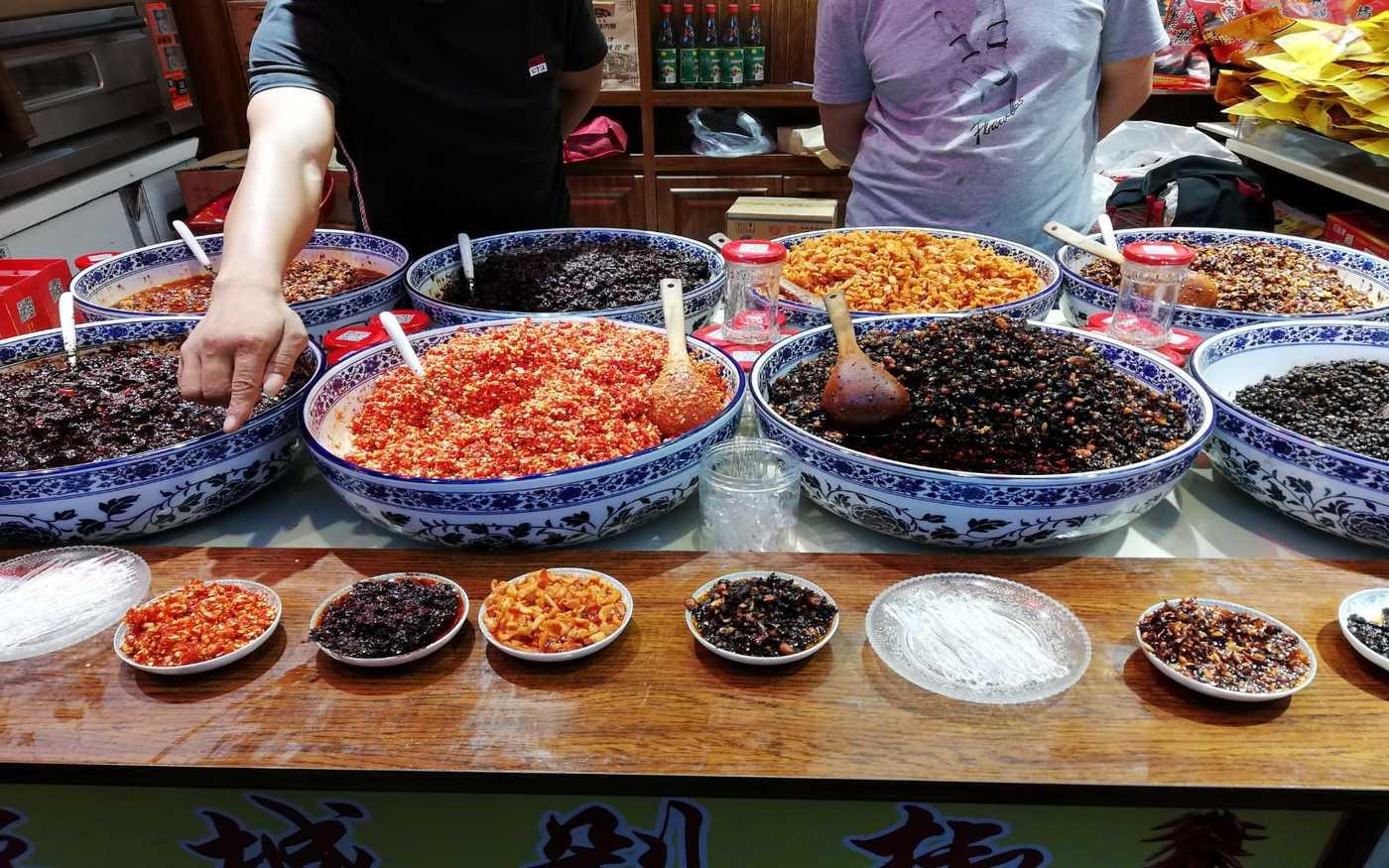 Sklep spożywczy w Pekinie
