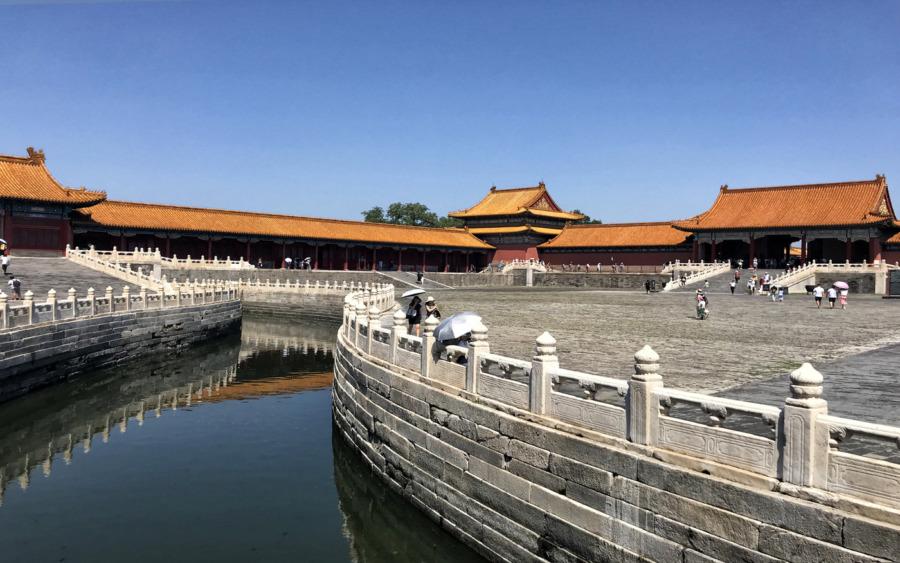 Zakazane Miasto - największa atrakcja Pekinu