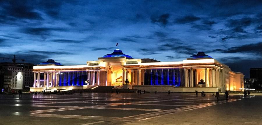 Budynek parlamentu w Ułan Bator