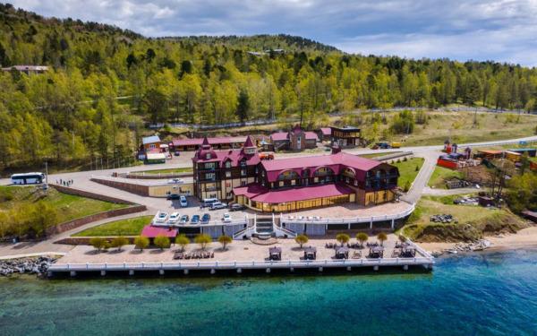Listwianka, hotel Legenda Bajkału