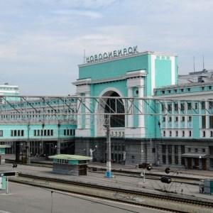 Dworzec Główny w Nowosybirsku