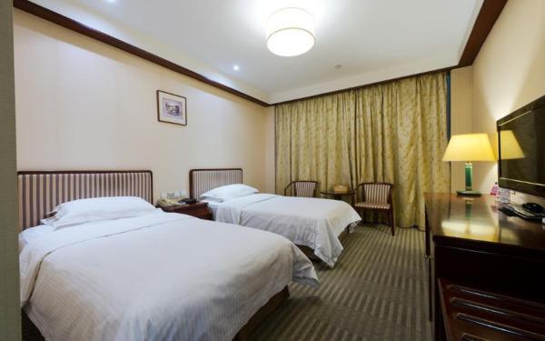 Pokój dwuosobowy w hotelu Jade Garden w Pekinie