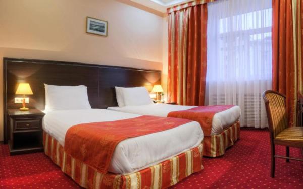 Twin w hotelu Baikal Plaza w Ułan Ude