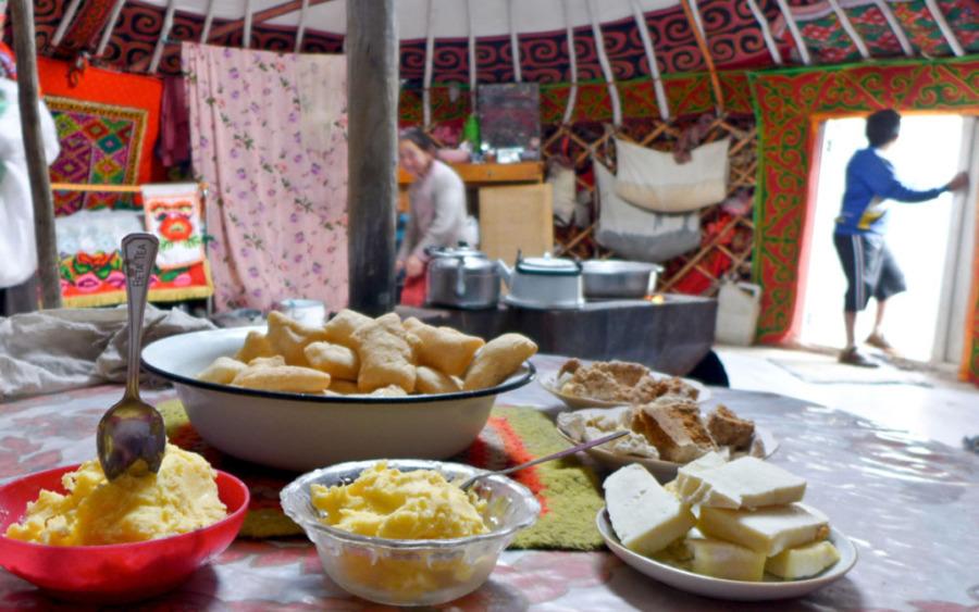 Posiłek u Nomadów
