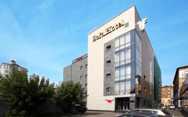 Krasnojarsk, hotel Soft