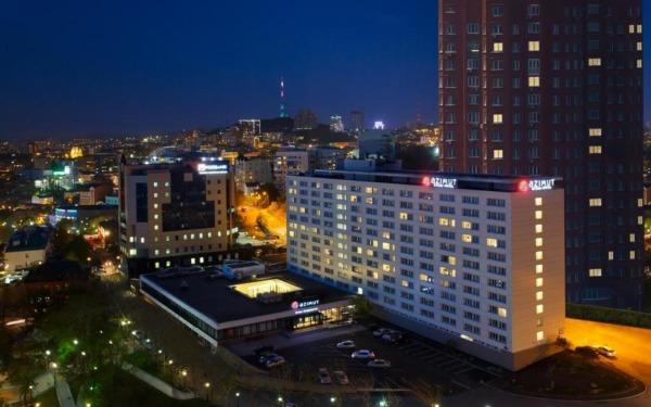 Władywostok, hotel Azimut