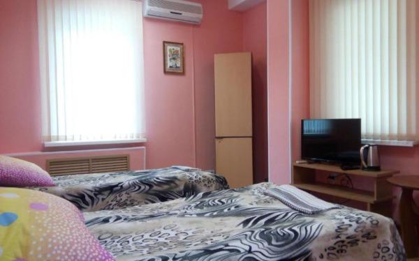 Pokój dwuosobowy w hostelu Filin i Sova we Władywostoku
