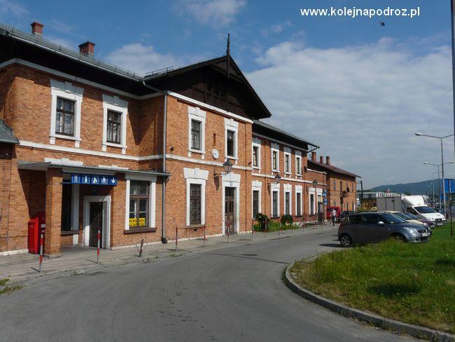 Wadowice - dworzec kolejowy