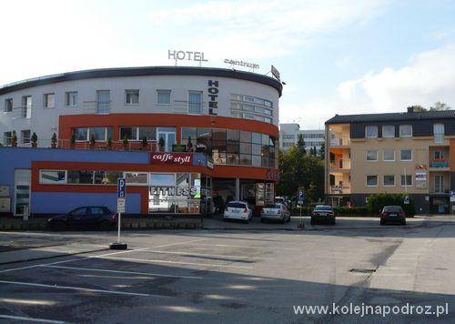 """Hotel """"Centrum"""" - budynek"""