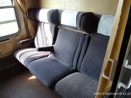 Pociąg Belgrad - Bukareszt - pierwsza klasa