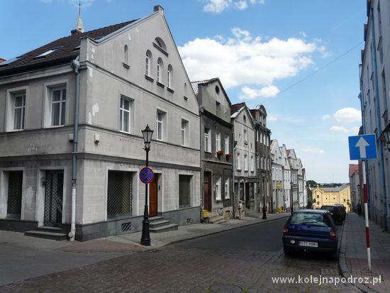 Tczew - ulica Okrzei