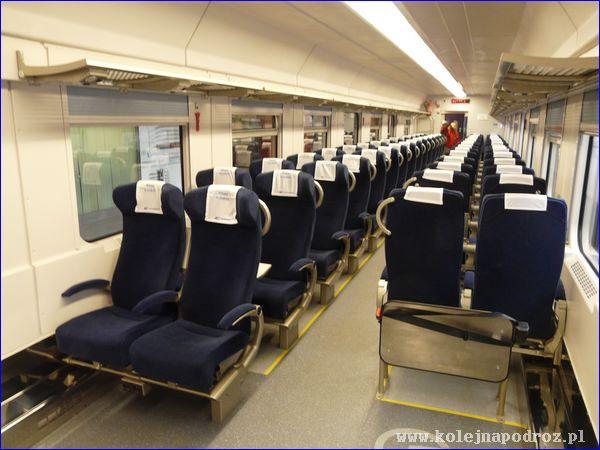 Zmodernizowany wagon PKP Intercity