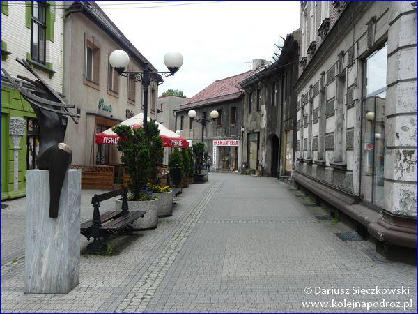 Mikołów - ulica Jana Pawła II