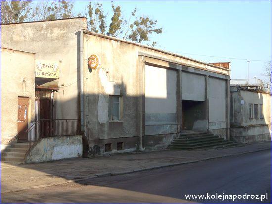 Chrzanów - budynek dworca