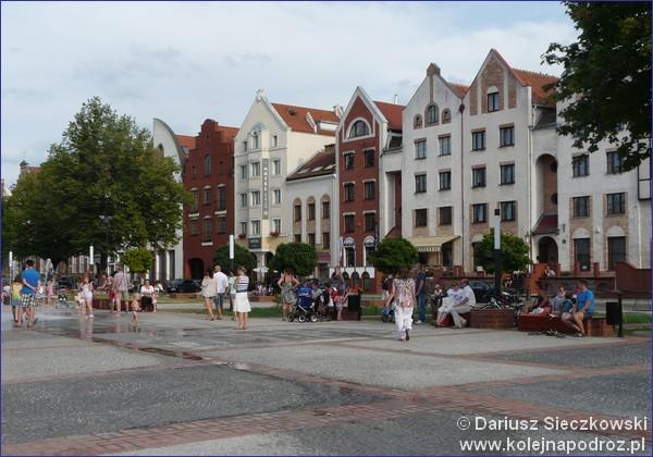 Plac Katedralny w Elblągu