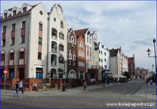 Elbląg - ulica Stary Rynek