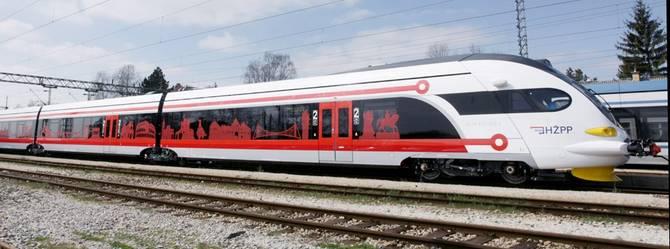 Nowe pociągi w Chorwacji