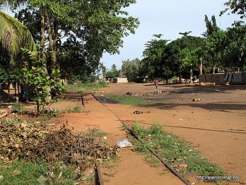Togo - linia kolejowa