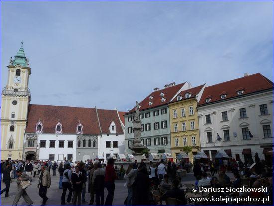 Bratysława - Rynek Główny