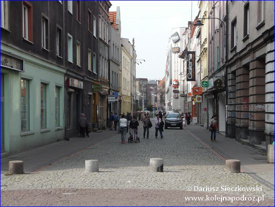 Bytom - ulica prowadząca na Rynek