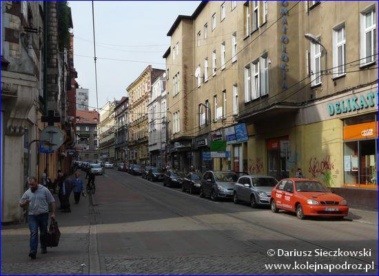 Bytom - ulica w centrum
