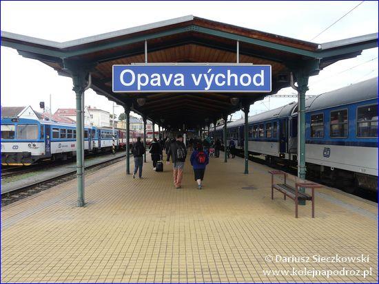 Opava-Východ - peron 2