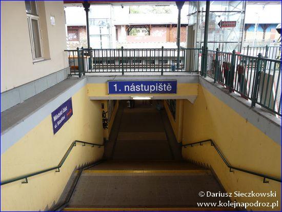 Opava-Východ - przejście podziemne