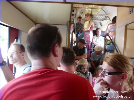 Tłok w pociągu Hel - Gdynia