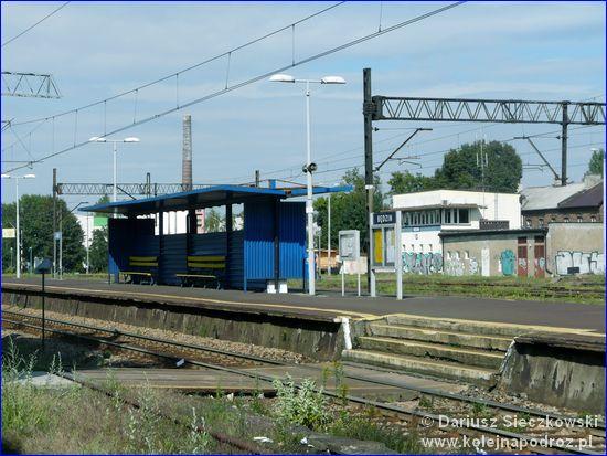 Będzin - peron dworca