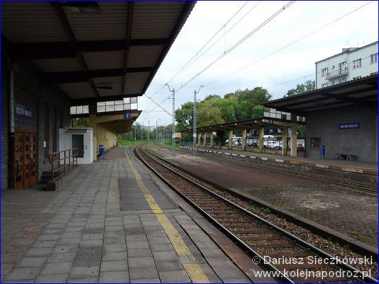 Będzin Miasto - perony