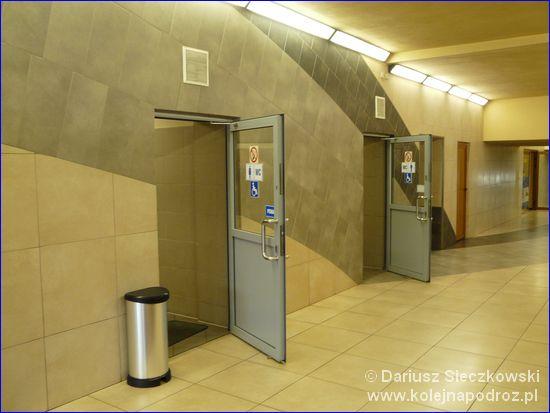 Będzin Miasto - wejście do toalet