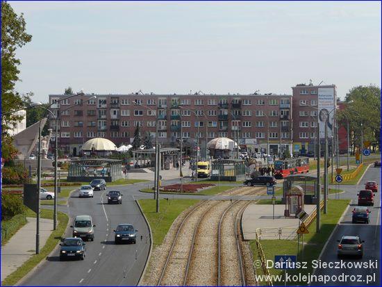 Dąbrowa Górnicza - przystanek na Placu Wolności