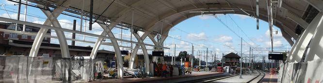 Gliwice – remont dworca (foto)