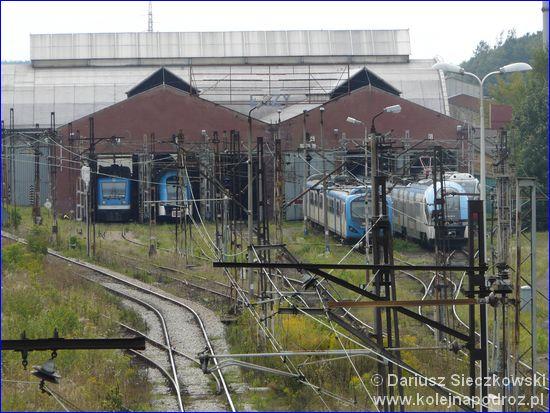 Łazy - lokomotywownia
