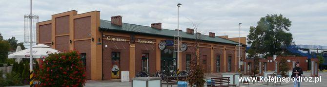 Dworzec kolejowy Łazy – informacje