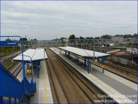 Łazy - perony