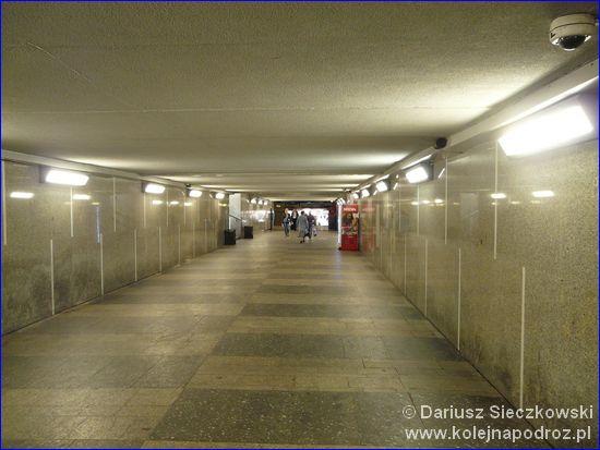 Sosnowiec Główny - przejście podziemne