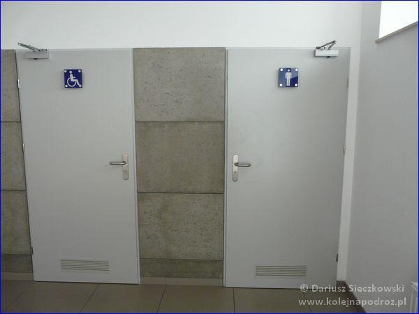 Katowice Ligota - toalety