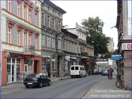 Kluczbork - ulica Mickiewicza