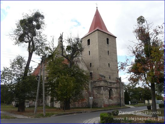 Lewin Brzeski - nieużytkowany kościół