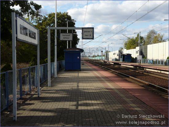 Lewin Brzeski - peron 1
