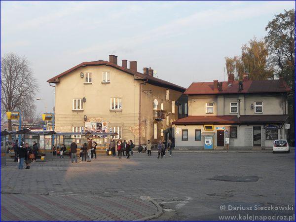 Czechowice-Dziedzice - dworzec komunikacji podmiejskiej