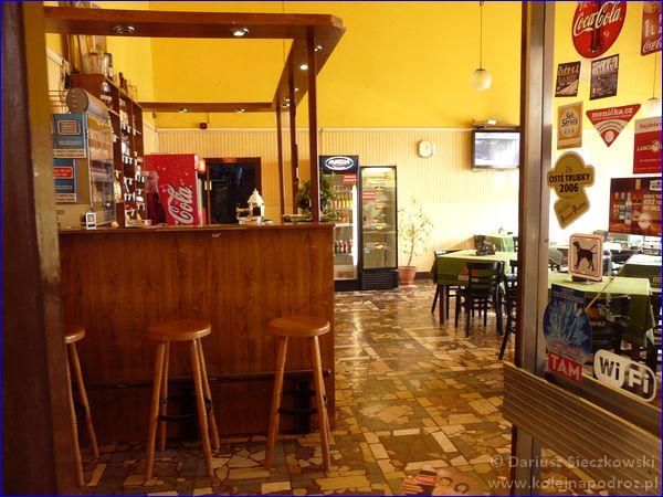 Hranice na Moravě - restauracja dworcowa