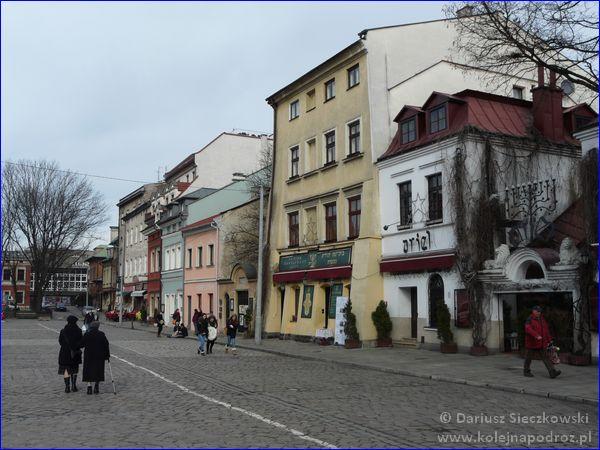 Kraków - Kazimierz (ulica Szeroka)