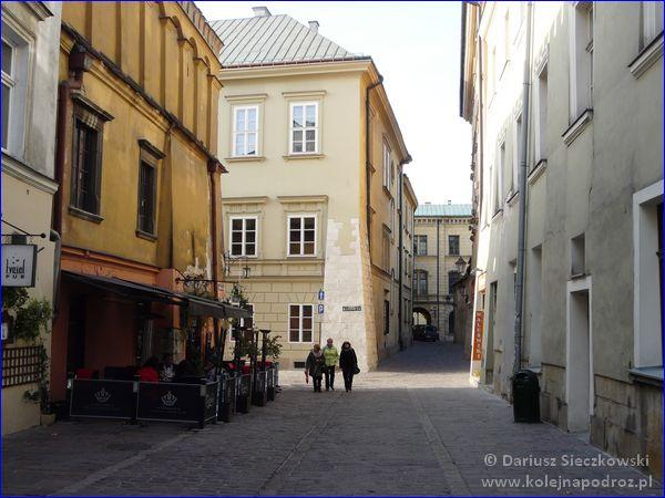Kraków - ulica Senacka
