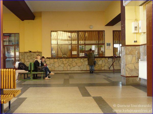Nysa - dworzec kolejowy
