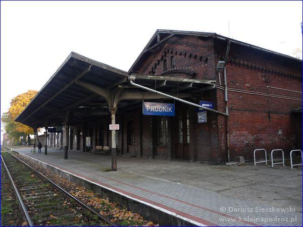 Prudnik - dworzec kolejowy - peron 1