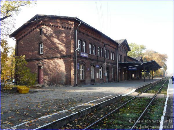 Dworzec kolejowy w Prudniku