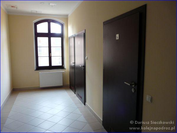 Szkolne Schronisko Młodzieżowe Dąbrówka w Prudniku - korytarz